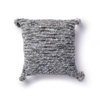 Bernat - Cable Texture Knit Pillow in Crushed Velvet (downloadable PDF)