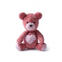 Bernat - Velvet Valentine Crochet Bear in Velvet (downloadable PDF)