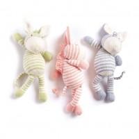 Bernat - Knit Zebra in Softee Baby (downloadable PDF)