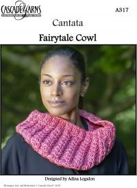 Cascade A317 - Fairytale Cowl in Cantanta (downloadable PDF)