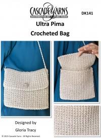 Cascade DK141 - Crocheted Bag in Ultra Pima (downloadable PDF)