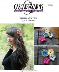Cascade DK236 - Mela Flowers in Ultra Pima (downloadable PDF)