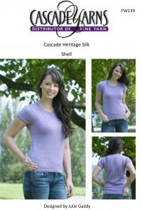 Cascade FW139 - Shell Top in Heritage Silk (downloadable PDF)