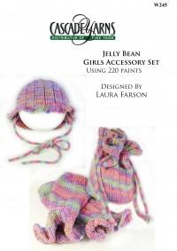 Cascade W245 - Jelly Bean Girls Accessory Set in 220 (downloadable PDF)