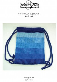 Cascade W275 - Boy's Stuff Sack in 220 Superwash (downloadable PDF)