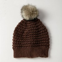 Caron - 5 Star Women's Beanie Hat in Simply Soft (downloadable PDF)