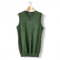 Caron - Adult Knit V-Neck Vest in Simply Soft (downloadable PDF)