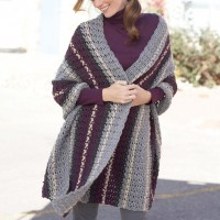 Caron - Afternoon Wrap in Simply Soft (downloadable PDF)
