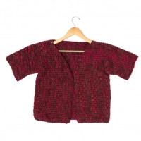 Caron - Anywhere Short-Sleeved Cardi in Simply Soft Paints (downloadable PDF)
