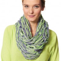 Caron - Arm Knit Cowl in Simply Soft (downloadable PDF)