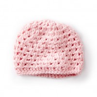 Caron - Baby's First Cluster Crochet Hat in Simply Soft (downloadable PDF)