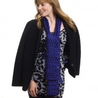 Caron - Broomstick Lace Scarf, Stole or Throw in Simply Soft (downloadable PDF)