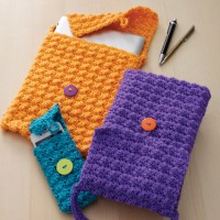 Caron - Cellphone or Tablet Cozy in Simply Soft (downloadable PDF)