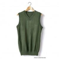 Caron - Child's Knit V-Neck Vest in Simply Soft (downloadable PDF)