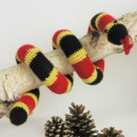 Caron - Coral Snake Toy in Simply Soft (downloadable PDF)