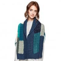Caron - Crochet Boxy Wrap in Pantone (downloadable PDF)
