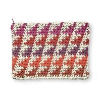 Caron - Crochet Clutch Bag in Pantone (downloadable PDF)