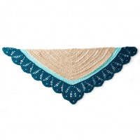 Caron - Crochet Comfort Shawl in Simply Soft (downloadable PDF)