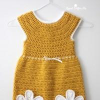Caron - Crochet Daisy Dress in Simply Soft (downloadable PDF)