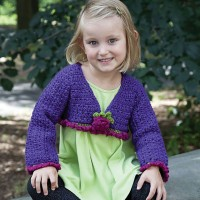 Caron - Fancy Girl Top in Simply Soft Party (downloadable PDF)