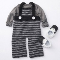 Caron - Funny Dungarees in Simply Soft (downloadable PDF)