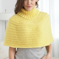 Caron - Just Enough Cape in Simply Soft (downloadable PDF)