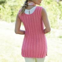 Caron - Knit Tank Tunic in Simply Soft (downloadable PDF)