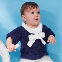 Caron - Nautical Toddler's Top in Simply Soft (downloadable PDF)