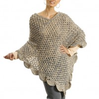 Caron - The Gift Poncho in Simply Soft (downloadable PDF)