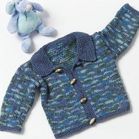 Caron - Toddler Sweater in Simply Soft Paints (downloadable PDF)