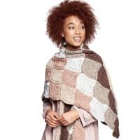 Caron - Crochet Wavy Wrap in Pantone (downloadable PDF)