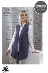 Cygnet 1307 It's A Wrap Waistcoat in Cygnet DK (leaflet)