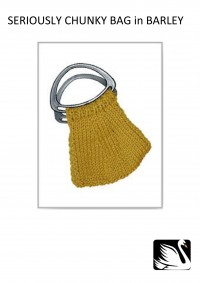 Cygnet - Barley Bag in Seriously Chunky (downloadable PDF)