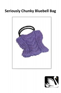 Cygnet - Bluebell Bag in Seriously Chunky (downloadable PDF)