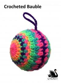 Cygnet - Crocheted Bauble in Cygnet DK (downloadable PDF)