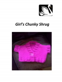 Cygnet - Girls Chunky Shrug in Seriously Chunky (downloadable PDF)