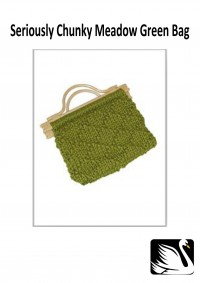 Cygnet - Meadow Green Bag in Seriously Chunky (downloadable PDF)