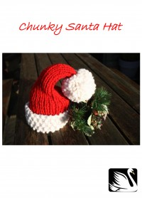 Cygnet - Chunky Santa Hat in Seriously Chunky (downloadable PDF)