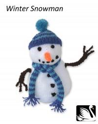 Cygnet - Winter Snowman in Cygnet DK (downloadable PDF)