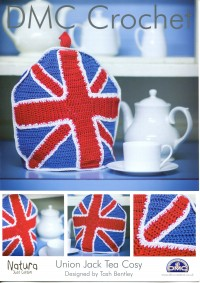 DMC 14896L/2 Crochet Union Jack Tea Cosy (Leaflet)