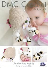 DMC 14897L/2 Crochet Bumble Bee Mobile Amigurumi (Leaflet)