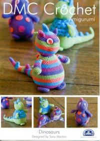 DMC 14899L/2 Crochet Dinosaurs (Leaflet)