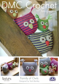 DMC 14934L/2 Crochet Family Of Owls (Leaflet)