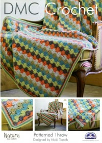 DMC 14939L/2 Crochet Patterned Throw (Leaflet)