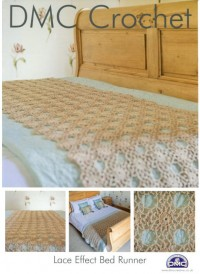 DMC 14940L/2 Crochet Lace Effect Bed Runner (Leaflet)