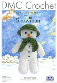 DMC 15005L/64 Crochet The Snowman (Leaflet)
