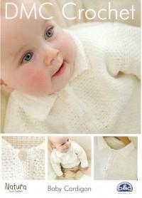 DMC 15044L/2 Crochet Baby Cardigan (Leaflet)