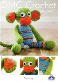 DMC 15048L/2 Crochet Amigurumi Monkey (Leaflet)