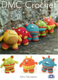 DMC 15049L/2 Crochet Amigurumi Mini Monsters (Leaflet)