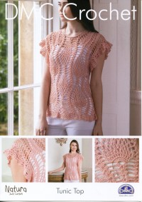 DMC 15092L/2 Crochet Tunic Top (Leaflet)